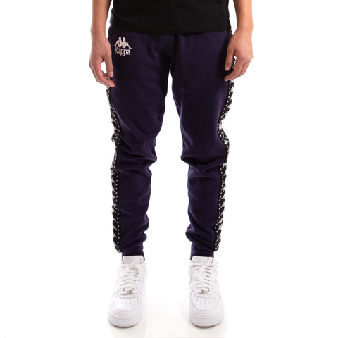 Kappa Authentic Amsag Blue Greystone Black Sweatpants