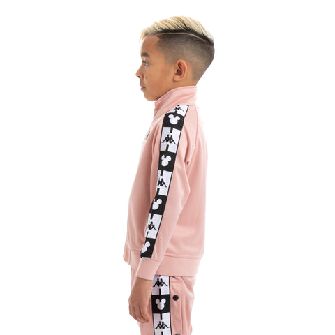 Kids Authentic Anne Disney Pink Dusty Black Track Jacket