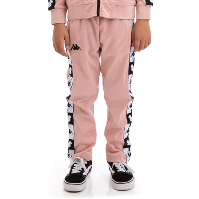 Kids Authentic Anthony Disney Pink Dusty Black Trackpants