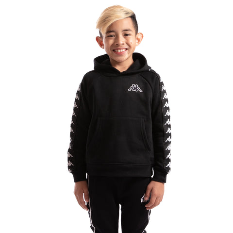 Kappa Kids Authentic 222 Banda Aritz Slim Sweatshirt Black Black