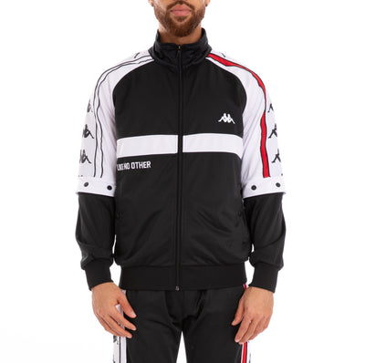 Authentic Bafer Black Red White Track Jacket
