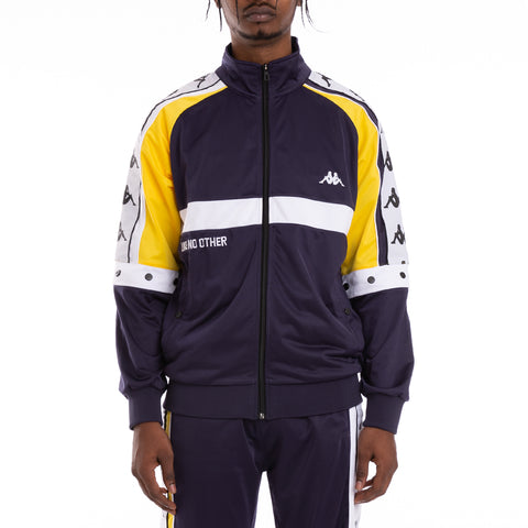 Authentic Bafer Blue Black White Track Jacket