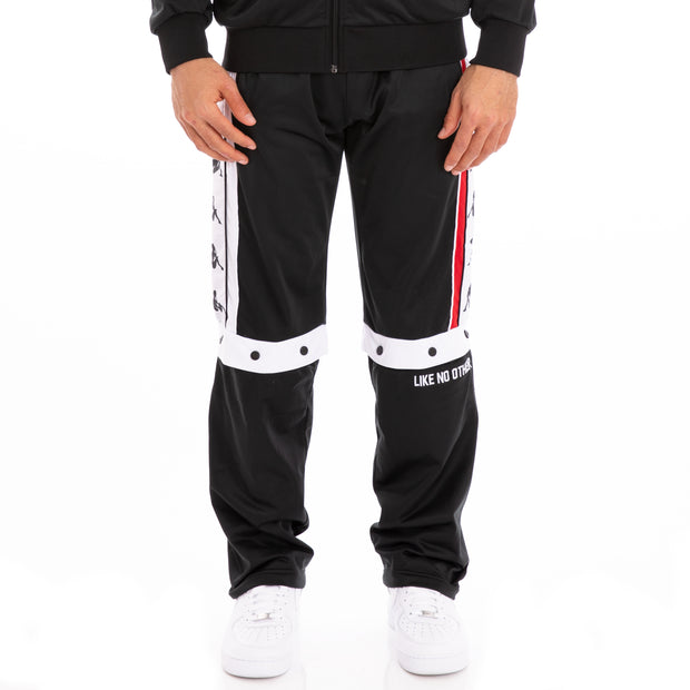 Authentic Baltas Black Red White Trackpants