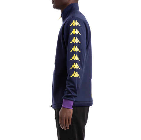 Kappa Authentic Baltuc Blue Yellow Violet Sweatshirt