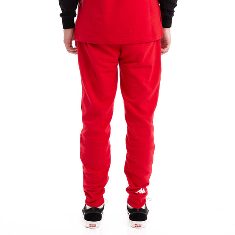 Kappa Authentic Bartuc Red Sweatpants