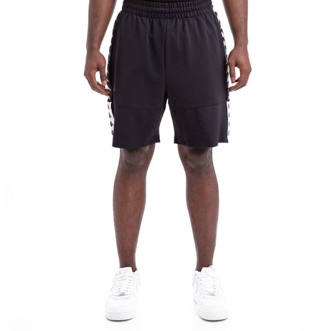 Kappa Authentic Biplus Black White Shorts