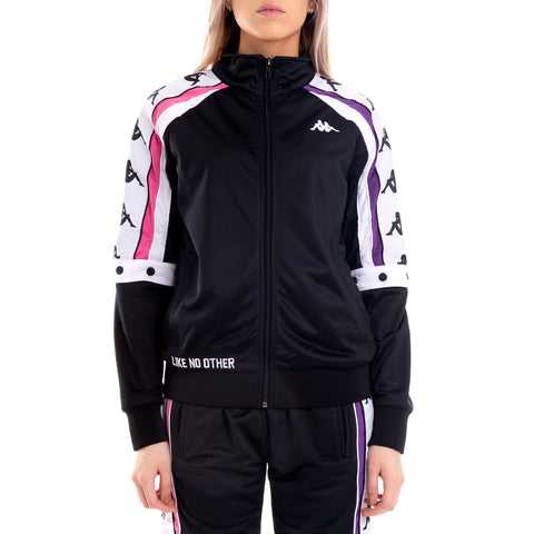 Authentic Byap Black Fuchsia White Jacket