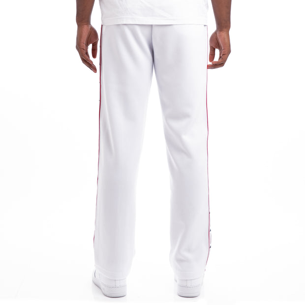 Kappa Authentic Jpn Bailor White Red Black Trousers