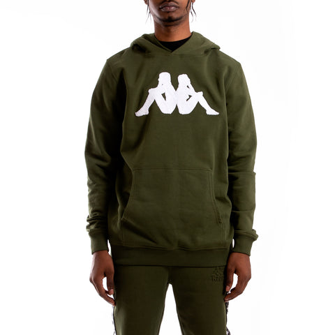 Kappa Authentic Bzalent Green Africa Hoodie