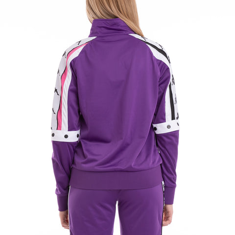 Authentic Byap Violet Fuchsia White Jacket