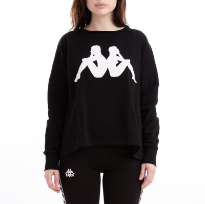 Kappa Authentic Bamazy Black Sweatshirt