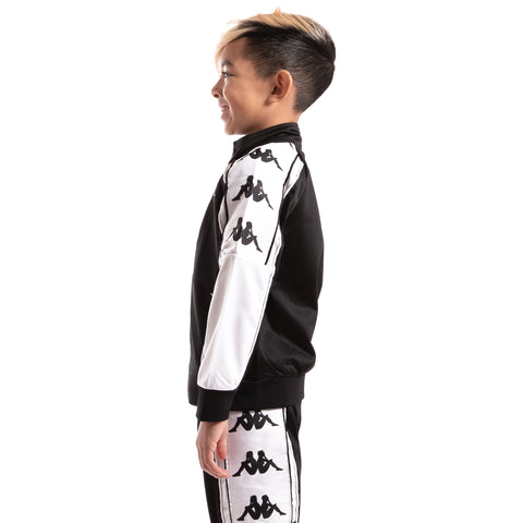 Kids 222 Banda 10 Anay Black White Jacket