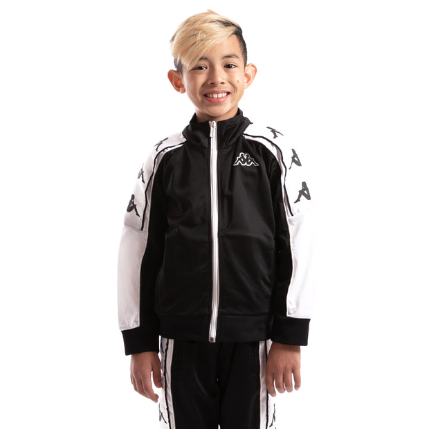 Kappa Kids 222 Banda 10 Anay Black White Jacket