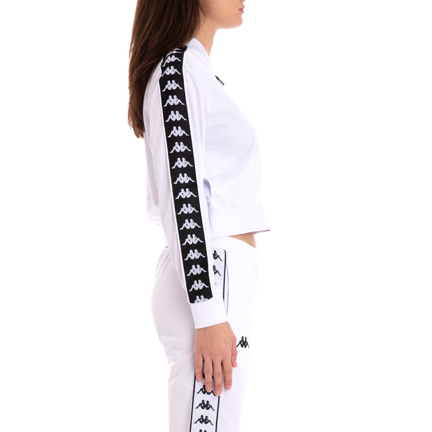 222 Banda Asber Alternating Banda White Black Jacket
