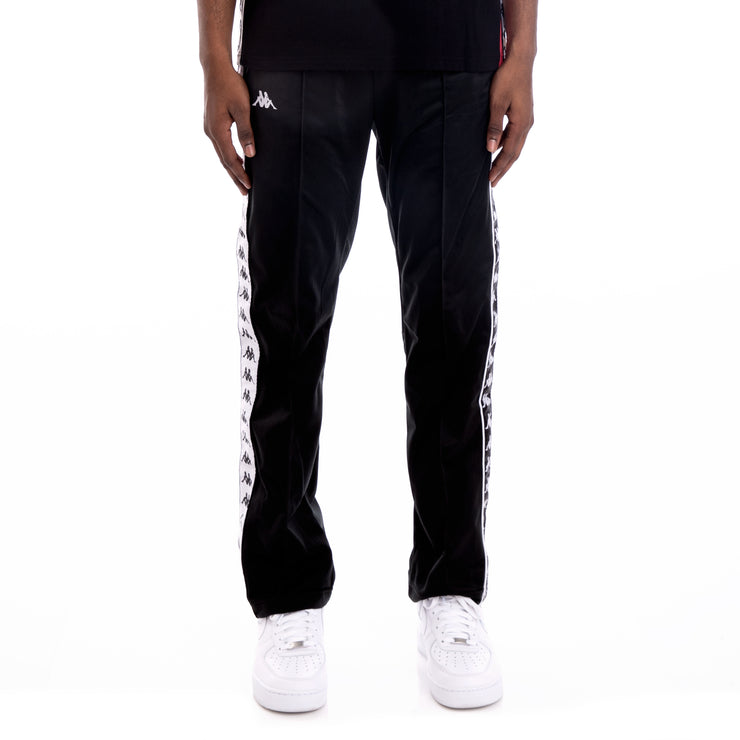 222 Banda Astoriazz Alternating Banda Black White Trackpants