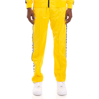 222 Banda Astoriazz Alternating Banda Yellow Black White Trackpants