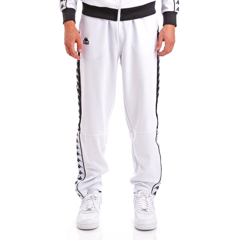 222 Banda Baris White Black Trousers
