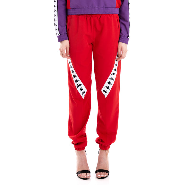 222 Banda Bawon Red White Joggers