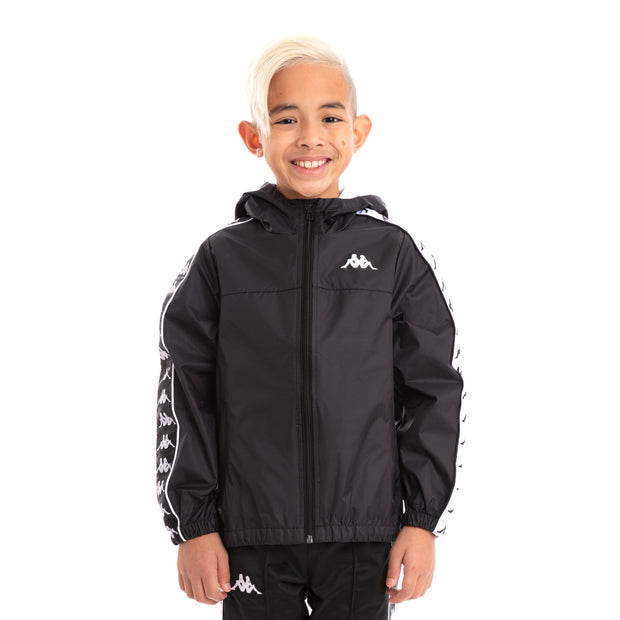 Kids 222 Banda Dawson Black White Jacket