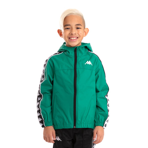 Kids 222 Banda Dawson Green Black White Jacket