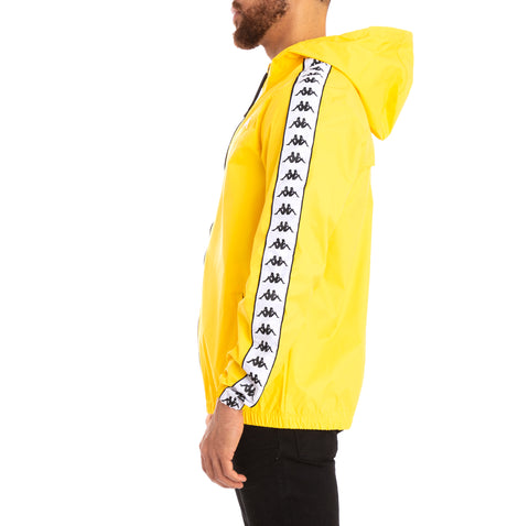 222 Banda Dawson Alternating Banda Yellow Black White Jacket