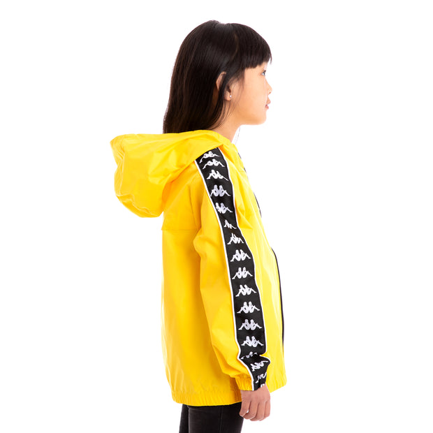 Kids 222 Banda Dawson Yellow Black White Jacket