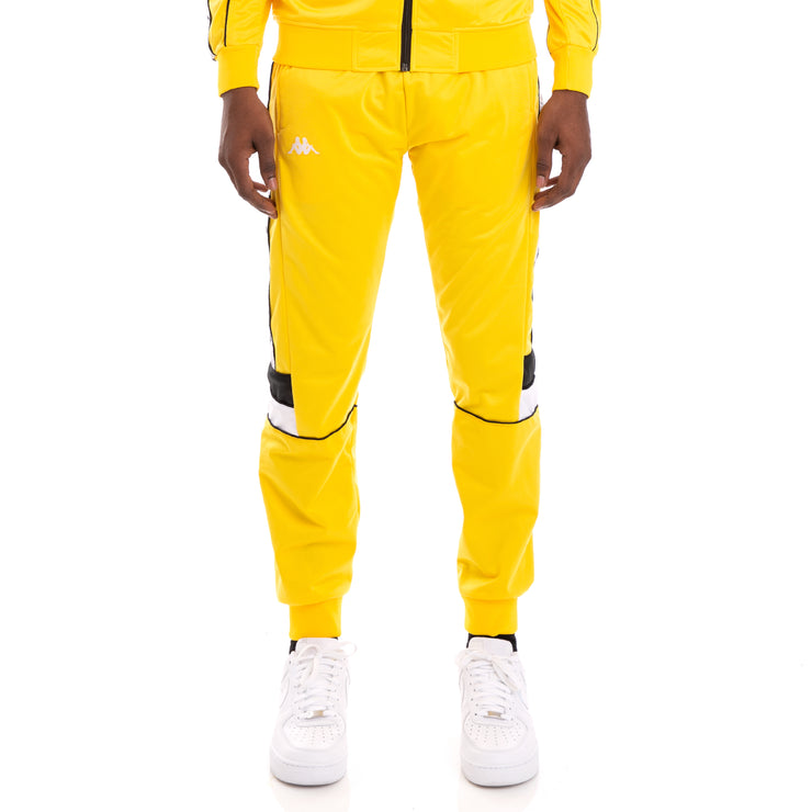 222 Banda Memzz Yellow Black White Trackpants