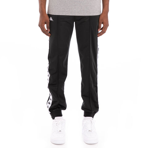 222 Banda Rastoriazz Alternating Banda Black White Trackpants