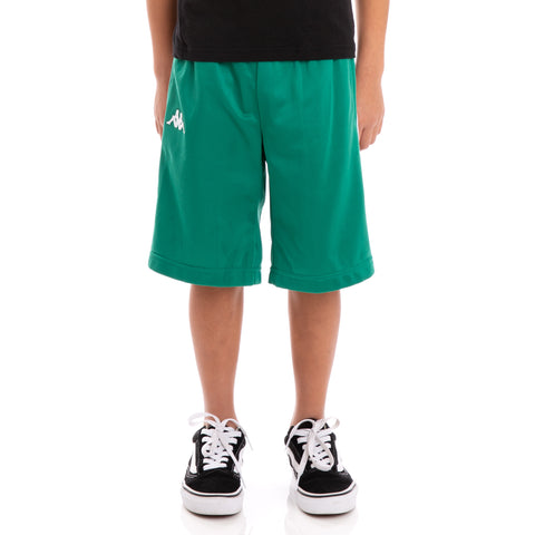 Kids 222 Banda Treadwell Alternating Banda Green Black White Shorts