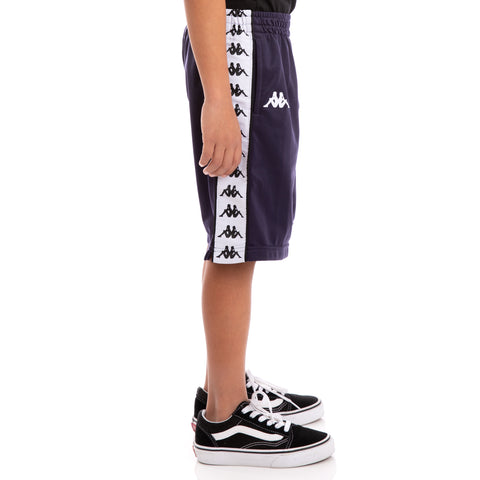 Kids 222 Banda Treadwell Alternating Banda Blue Black White Shorts