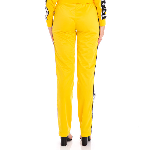 222 Banda Wastoria Alternating Banda Yellow Black White Pants