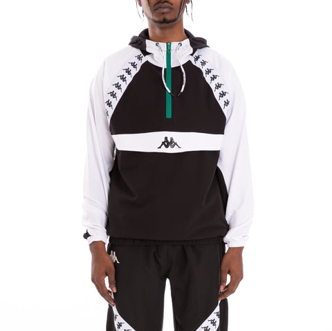 Kappa Authentic Bakit Black White Anorak
