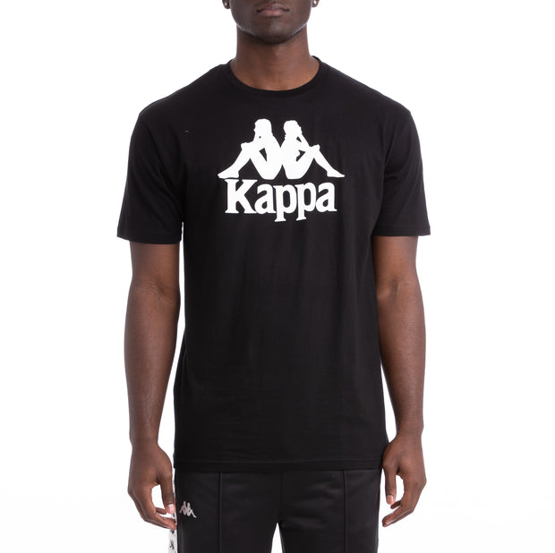Kappa Authentic Estessi Black White T-Shirt