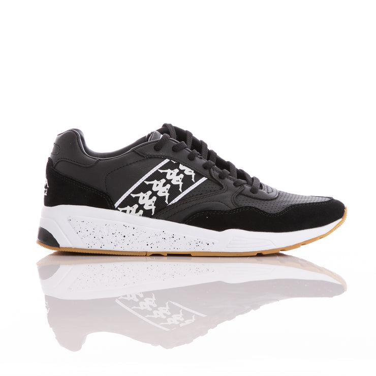 Kappa 222 Banda Luxor 1 Black White Sneakers