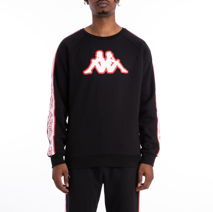 Logo Tape Ateri Black Sweatshirt