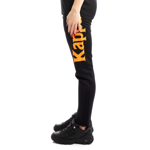 Kappa Kalcio Bigily Black Orange Trackpants