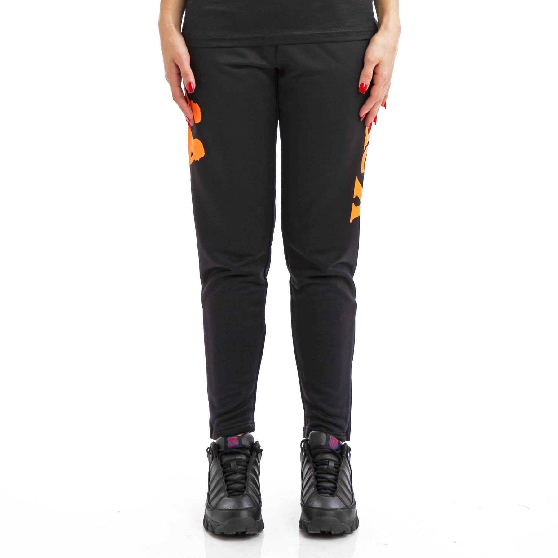 d8a23cbe Kappa Kalcio Bigily Black Orange Trackpants – Kappa USA