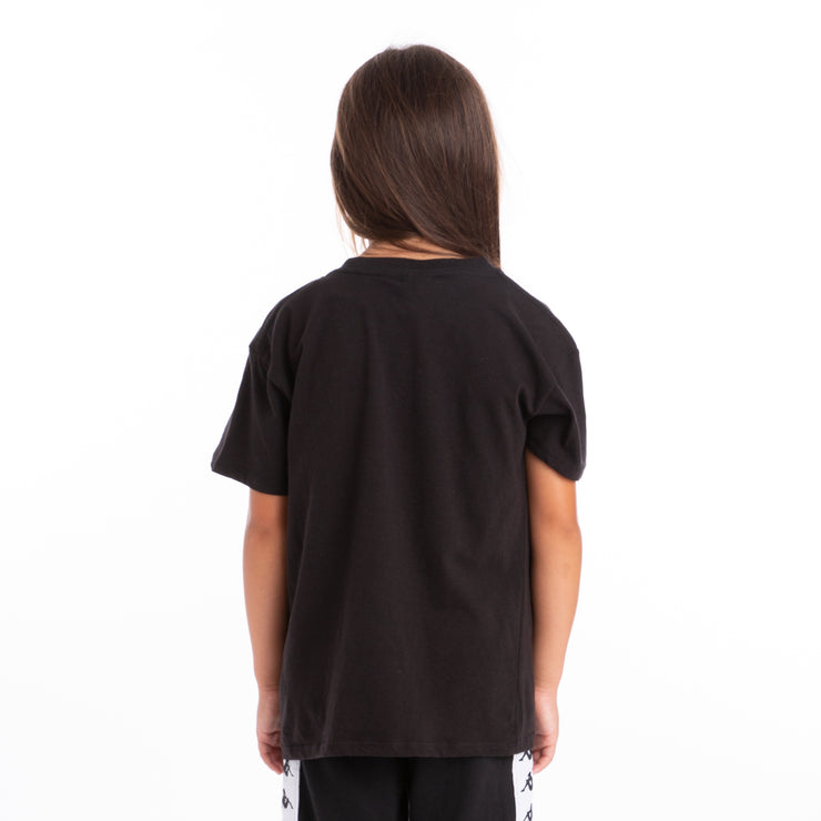 Kids Authentic Estessi Black Greysilver T-Shirt