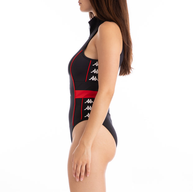 222 Banda Babini Bodysuit - Black Red