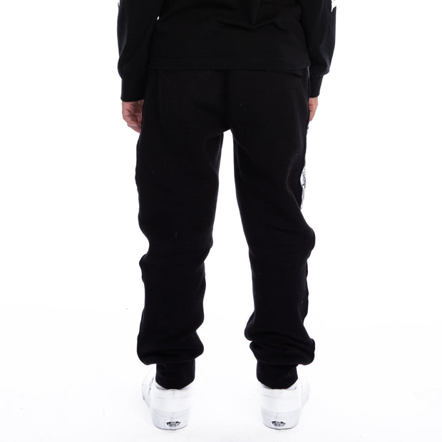Kids 222 Banda Dariis Reflective Sweatpants - Black Grey Reflective