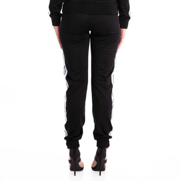 Logo Tape Arecti Black Trackpants