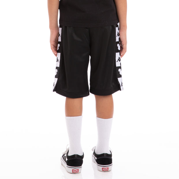 Kids Authentic Arwell Disney Black White Shorts