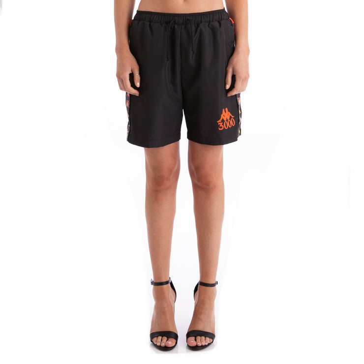 Kappa x Gumball 3000 Banda Glit Black Swim Trunks