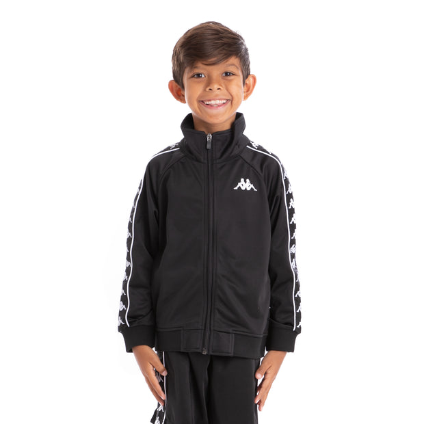 Kids 222 Banda Anniston Track Jacket Black Black