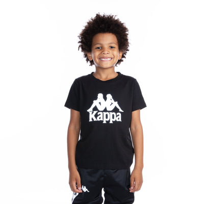 Kids 222 Banda Dris Reflective T-Shirt - Black Grey Reflective