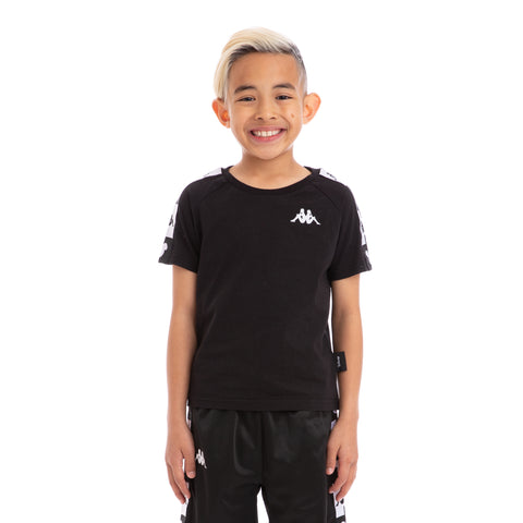 Kappa Kids Authentic Archie Disney Black White T-Shirt