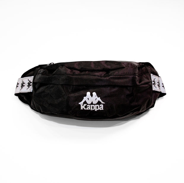 222 Banda Danky Reflective Pouch Bag Black Grey Reflective