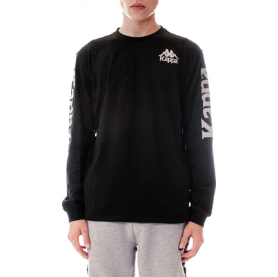 Authentic Defer Reflective Long Sleeve T-Shirt Black Grey Reflective