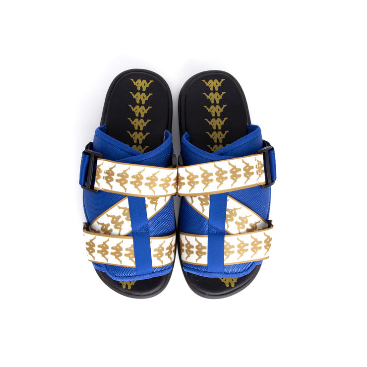 222 Banda Mitel 1 Royal Yellow Golden Sandals