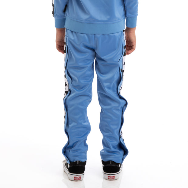 Kids Authentic Anthony Disney Blue Pacific Black Trackpants